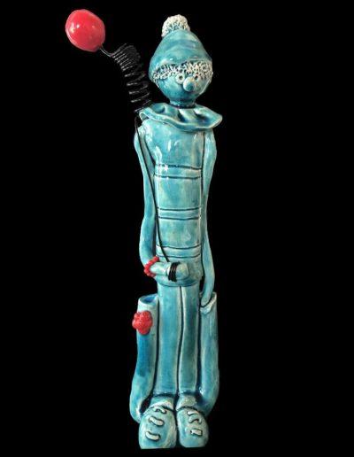 Auguste - Personnage - Céramique - Clown
