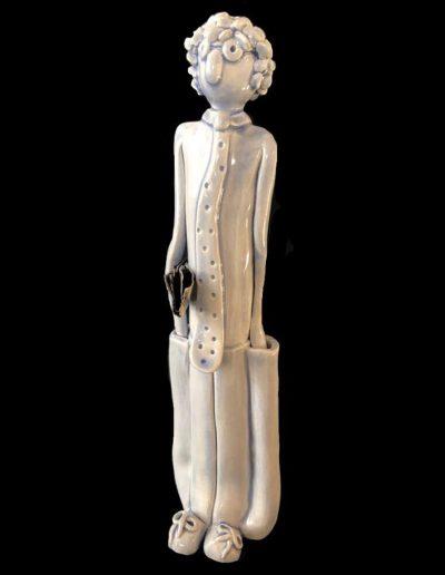 Oscar - Céramique - Personnage - Naïf