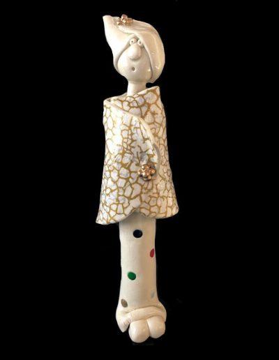 Rose - Personnage - Céramique - Naïve