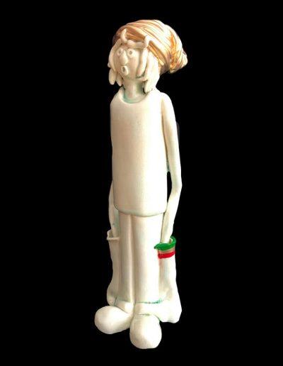 Ziggy - Personnage - Céramique - Rasta